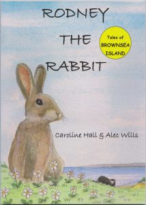 Rodney The Rabbit front cover - Caroline Hall & Alec Wills